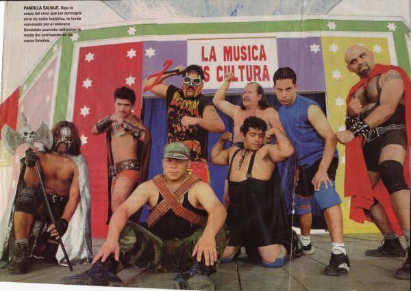 En los 90 se dio la incursión de un nuevo tipo de luchadores.