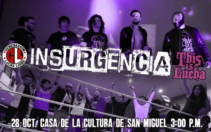 Insurgencia 2018 Lucha Libre